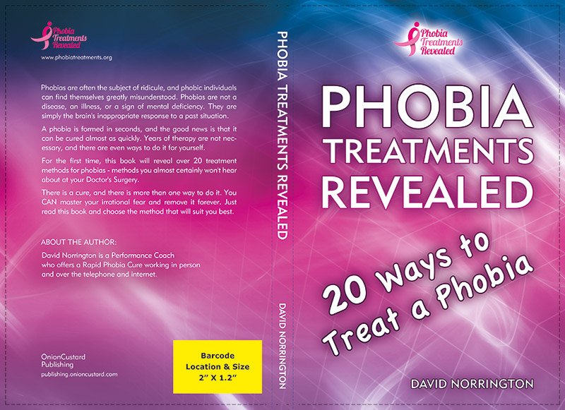 Phobia Treatments Revealed - book cover
