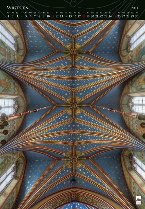 600th anniversary of the Cathedral - calendar, september