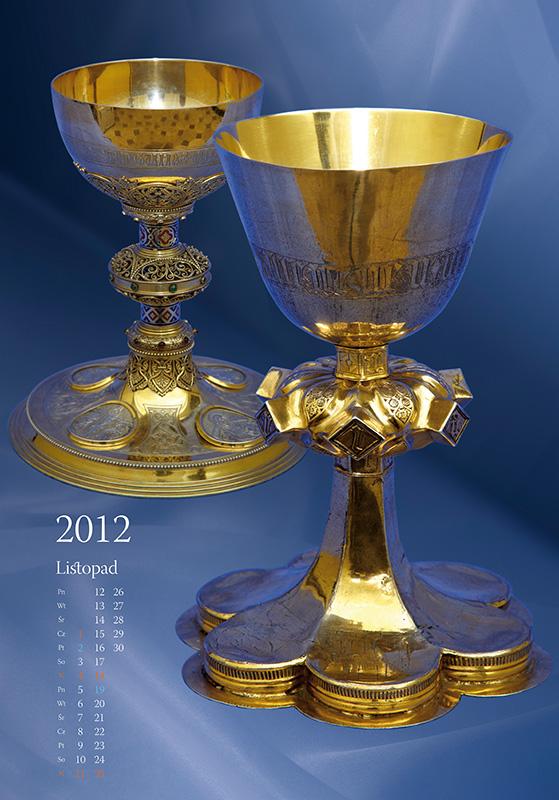 Treasures of Cathedral - calendar, november