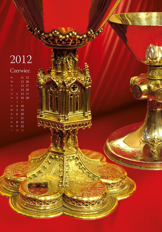 Treasures of Cathedral - calendar, june