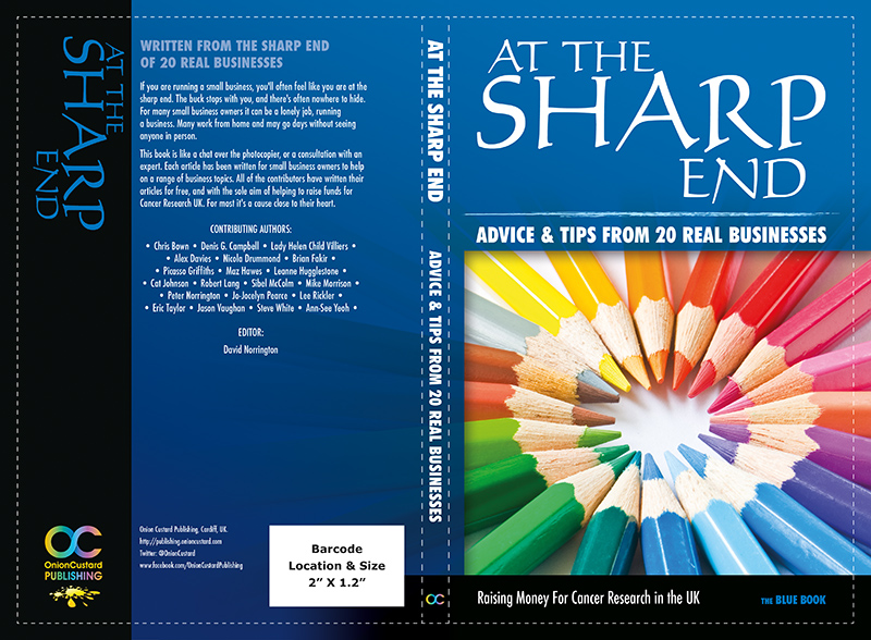 At The Sharp End - BLUE book cover