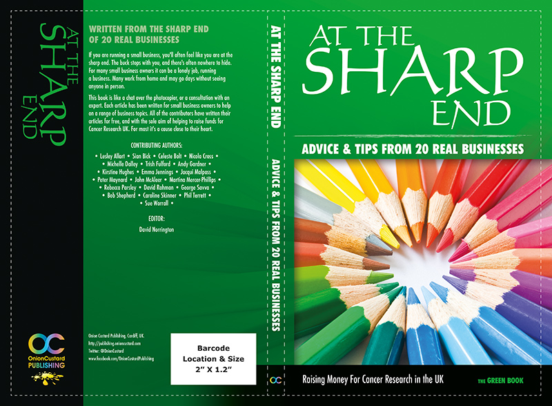 At The Sharp End - GREEN book cover