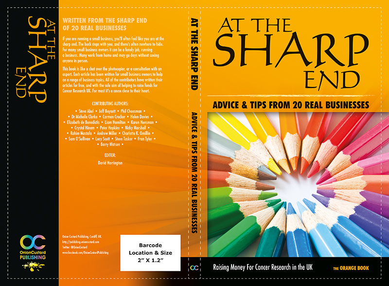 At The Sharp End - ORANGE book cover