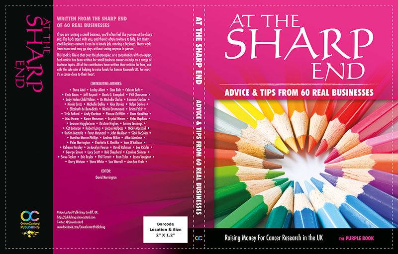 At The Sharp End - PURPLE book cover