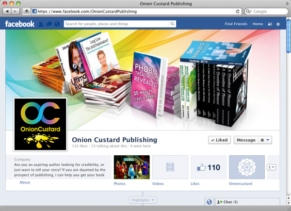 Onion Custard Publishing - fb cover